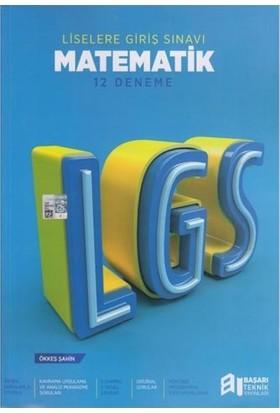 Başarı Teknik Yayınları 12 LGS Matematik Deneme