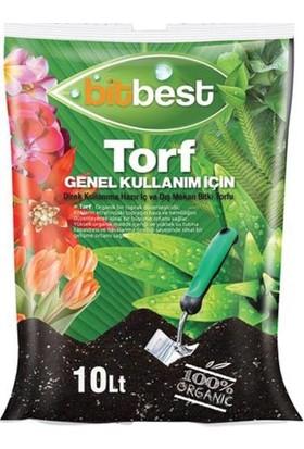 Bitbest Bio 3'lü 30 lt Gübreli Bitki ve Saksı Toprağı Torfu