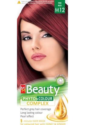 mm Beauty Bitkisel Saç Boyası M12-ATEŞ Kızılı