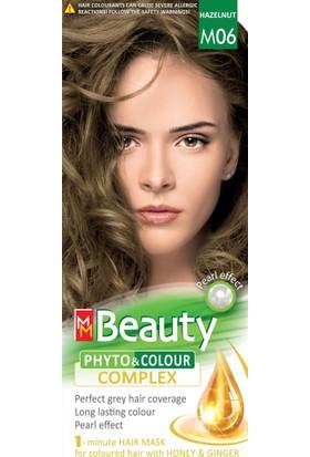 Mm Beauty Bitkisel Saç Boyası M06-FINDIK Kabuğu