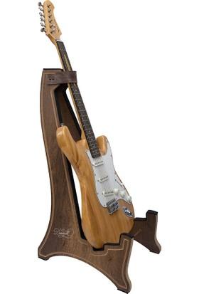 Donizetti Ahsap Gitar Sehpası Elektro Gitar Standı - Ceviz