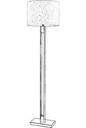 AVONNI LM-9108-1E Eskitme Kaplama Lambader E27 Metal 45cm