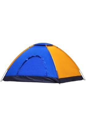 Realx 4 Kişilik Kamp Çadırı Su Geçirmez Kolay Kurulum Çadır