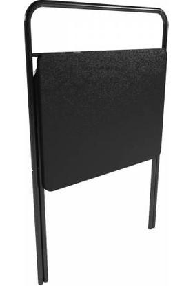 Byeren Portatif Katlanabilir Çalışma Masası Laptop Masası Siyah