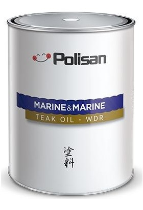 Polisan Marine&marine Anti Aging Teak Oil Wdr Tik Yağı 0,75LT