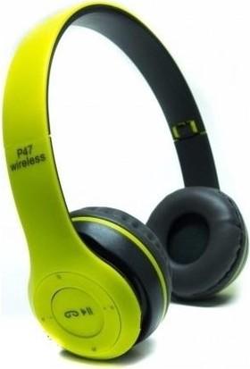 Torima P47 Extra Bass Wireless Bluetooth Kulaklık 5.0+Edr Fm Radyo Yeşil
