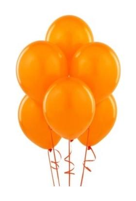 Balonevi Turuncu Balon 100 Adet