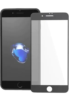 Ag Apple iPhone 8 Black Özel Seramik Full Ekran Cam