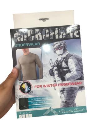Askeri Mikrofiber Termal Fanila Kısa Kollu