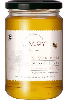 Umay Herbal Organik Çiçek Balı (Poliflora) 850 Gr