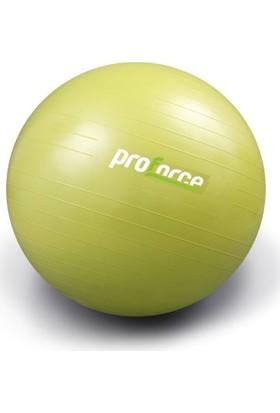 Proforce Gri Pilates Topu 55 cm ve Şişirme Pompası