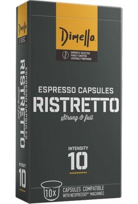 Dimello Ristretto Nespresso® Uyumlu Kapsül