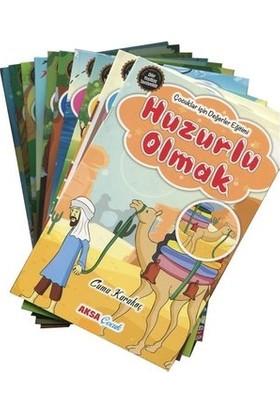 Çocuklar Için Hikayelerle Değerler Eğitimi Seti - 10 Kitap Takım