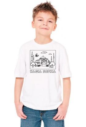 Paint&Wear Ayasofya Boyama T-Shirt 4-6