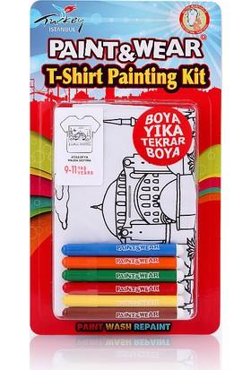 Paint&Wear Ayasofya Boyama T-Shirt 9-11