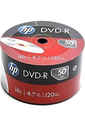 Hp Boş Dvd-R 4.7 GB 50'li 1 Koli Boş DVD