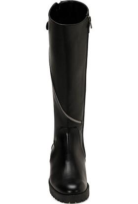 Nine West Cerıo Siyah Kadın Çizme