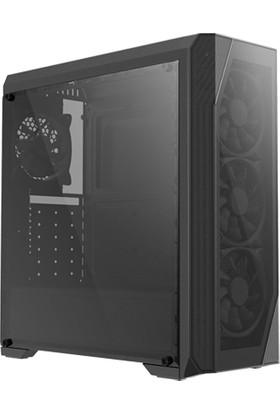 Zalman N5 TF ATX Mid Tower 4 RGB Fanlı 1 x Kulaklık, 1 x Mikrofon, 2 x USB 2.0, 1 x USB 3.0, Fan Kontrol, Renkli Akralik Panel, PCI/AGP365 mm Bilgisayar Kasa