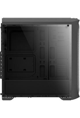 Zalman N5 Mf ATX Mid Tower 4 RGB Fanlı 1 x Kulaklık, 1 x Mikrofon, 2 x USB 2.0, 1 x USB 3.0, Fan Kontrol, Renkli Akralik Panel, PCI/AGP365 mm Bilgisayar Kasa