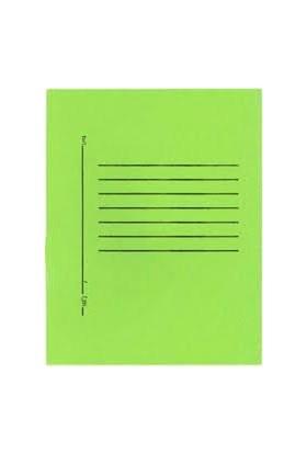 Alemdar Telli Dosya Lüks Tam Kapak Yeşil 25'li