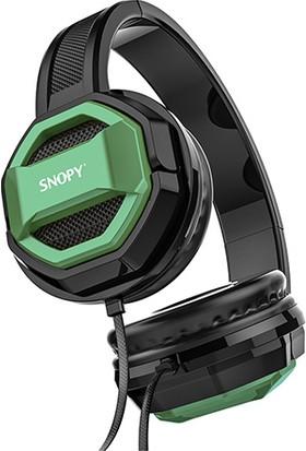 Snopy SN-101 Bonny Yeşil Pc-Telefon Mikrofonlu Kulaklık