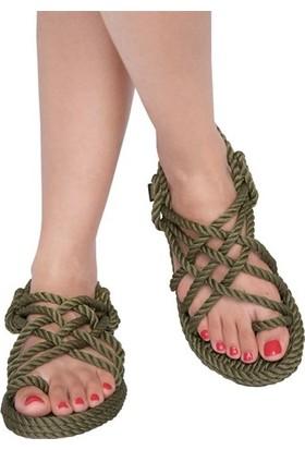 Nomadic Republic Nomadic Kadın Halat Sandalet - Haki