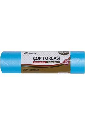 Atiplast Çöp Torbası Konteyner 90X120 Mavi 800GR