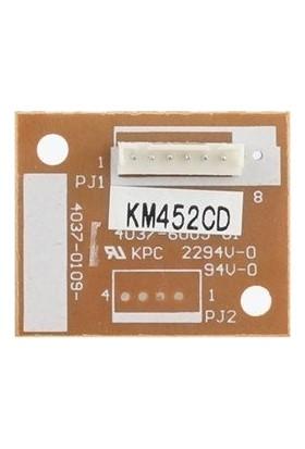 Develop IU-612C Drum Unit Chip Mavi IU-612 İneo+452, +552, +652