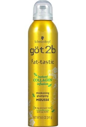 Schwarzkopf Fat-Tastic Kalınlaştırıcı ve Dolgunlaştırıcı Saç Köpüğü 240 gr