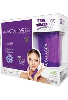 Suda Collagen + Probiotic Watermelon 10gx30 Sachet