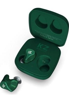 Kz Z1 10MM Dinamik Sürücülü Hi-Fi Bluetooth 5.0 Kablosuz Kulaklık Yeşil