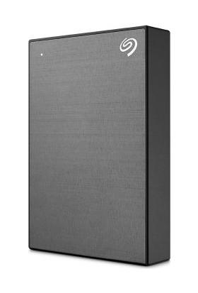 Seagate One Touch 5TB, 4 ay Adobe CC Photo Plan, 2 yıl Veri Kurtarma USB 3.0 Taşınabilir Disk Uzay Grisi (STKC5000404)