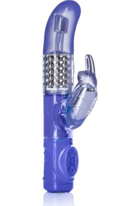 Calıfornıa Exotic Advanced G Jack 10 Fonksiyon Titreşimli Dönebilen G-Spot ve Klitoris Uyarıcı Rabbit Vibratör+Jel