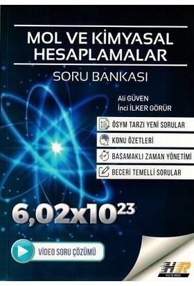 Hız Ve Renk Yayınları Mol Ve Kimyasal Hesaplamalar Soru Bankası - Ali Güven