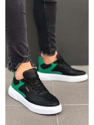 Knack Günlük Ayakkabı R10 Siyah Yeşil 40