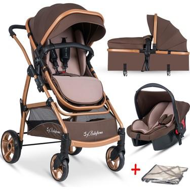 Baby Home BH-855 Mix Gold Travel Sistem Bebek Arabası + Fiyatı