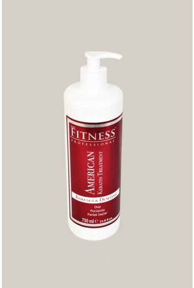 Fitness Professional Saç Düzleştirici Amerikan Keratin Bakımı Jel Kokusuz Dumansız 750 ml