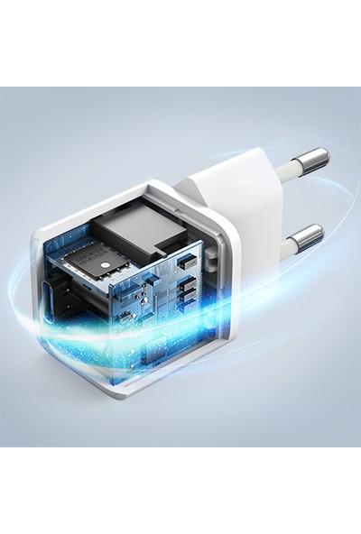 Anker PowerPort III Nano 20W USB-C Güç Adaptörü - Apple iPhone Hızlı Şarj Uyumlu - A2633