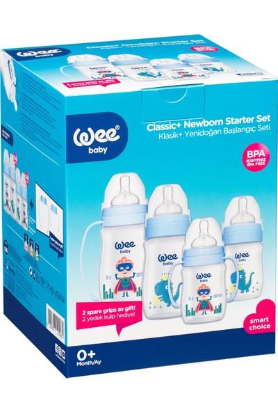 Wee Baby Klasik Plus Yeni Doğan Başlangıç Seti Mavi