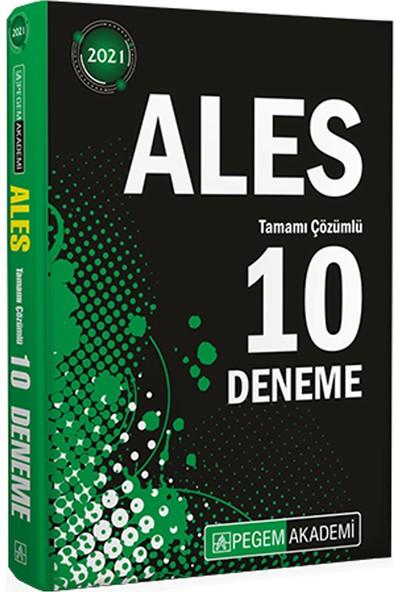 Pegem Akademi 2021 ALES Tamamı Çözümlü 10 Deneme