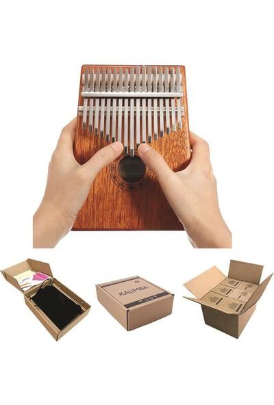 Köhner Kalimba Seti 17 Tuşlu – Maun – Başparmak Piyanosu