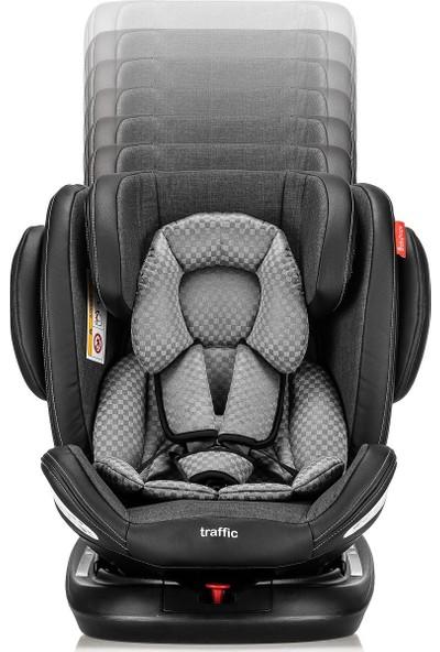 Babyhope BH-5280 Traffic Rotate 360° Dönebilen Isofixli Oto Koltuğu 0-36 kg