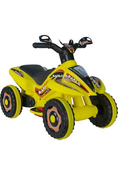 UJ Toys 6V Akülü ATV Sarı
