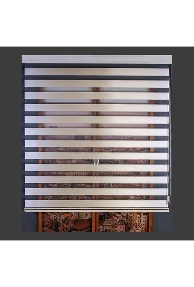 Anıper Zebra Perde Krem Bamboo Stor 100x200 cm