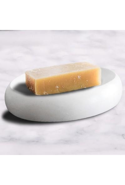 Ghogol Home Dekoratif Oval Sabunluk - Kırık Beyaz
