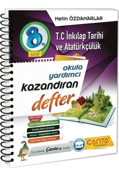 Çanta Yayınları 8. Sınıf T.c Inkılap Tarihi ve Atatürkçülük Kazandıran Defter