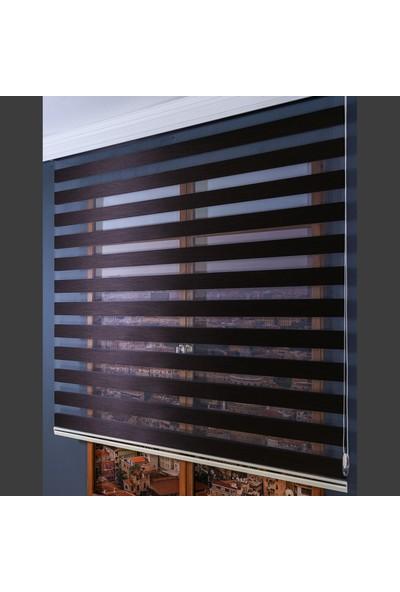 Anıper Zebra Perde Kahve New Bamboo Stor 80x200 cm