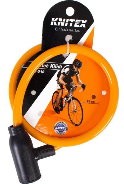 Knitex KTX516 Ince Bisiklet Kilidi 65CM
