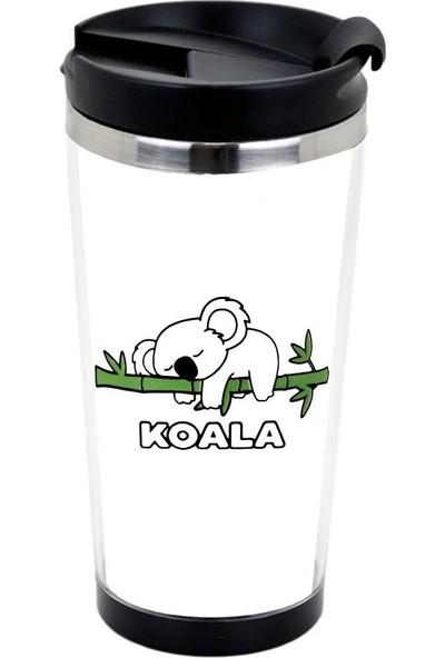Katarsis Koala Baskılı Termos Bardak