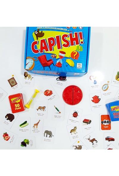 Yükselen Zeka Capish - Düşünme ve Konuşma Becerisini Geliştiren Oyun